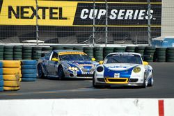 Tafel Racing Porsche GT3 Cup #72: Wolf Henzler, Robin Liddell,TRG Pontiac GTO.R #64 : Paul Edwards,