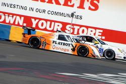 Vonage/ Playboy/ Palms Casino Pontiac Riley #89 : Alex Figge, Ryan Dalziel,Comfort Systems/ Synergy Racing Porsche GT3 Cup #81 : Steve Johnson, Robert Nearn