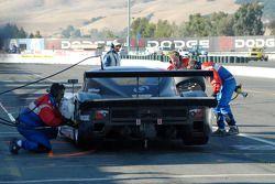 Arrêt aux stands pour la BMW Riley #3 Southard Motorsports : Shane Lewis, Craig Stanton