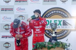 DP Podium: champagne for Scott Pruett and Luis Diaz