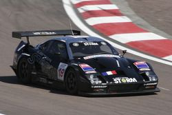 #19 Red Racing Lister Storm: Romain Yvon, Romain Brandela