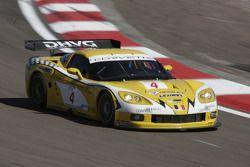Corvette C6R #4 GLPK Carsport : Bert Longin, Anthony Kumpen, Mike Hezemans