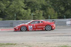 Ferrari 430 Challenge GT3 #34 JMB Racing : Stephane Daoudi, Hector Lester