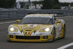 Corvette C6R #4 GLPK Carsport : Bert Longin, Anthony Kumpen, Mike Hezemans
