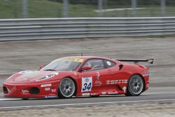 #34 JMB Racing Ferrari 430 Challenge GT3: Stéphane Daoudi, Hector Lester