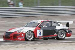 #4 Auto Sport Promotion Porsche 997 GT3 Cup: Gabriel Balthazard, Mike Savary