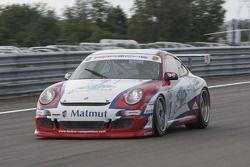 #1 Larbre Competition Porsche 997 GT3 Cup: Roland Berville, Richard Ballandras