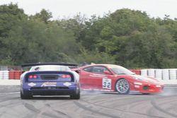 Spin for #32 JMB Racing Ferrari 430 Challenge GT3: Stephen Earle, Ian Khan