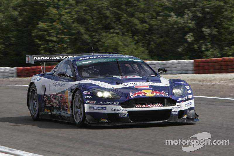 #33 Race Alliance Motorsport Aston Martin DBR 9: Karl Wendlinger, Philipp Peter