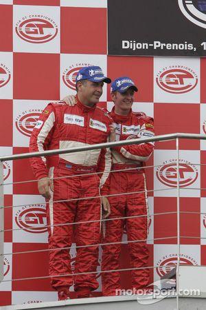 Podium GT2 : 2e place pour Chris Niarchos et Tim Mullen