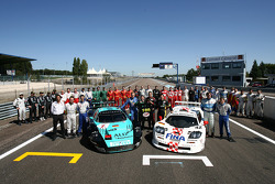 Célébration de la 100e course de FIA GT