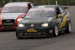 Christian Miller (#25 Volkswagen Jetta);Freddy Baker (#18 Audi A4)