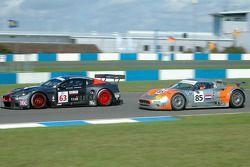 Aston Martin DBR9 #63 Team Modena : Antonio Garcia, Peter Hardman,Spyker C8 Spyder GT-2R #85 Spyker Squadron : Jeroen Bleekemolen, Jonny Kane