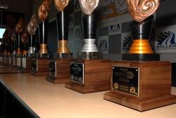 La table des trophées du Discount Tire Sunchaser