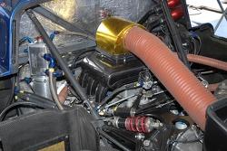 Détail du moteur de la Porsche Riley #58 Brumos Racing