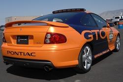 Une Pontiac GTO, pace car officiel