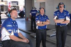 Membres de l'écurie Lowe's Fernandez Racing