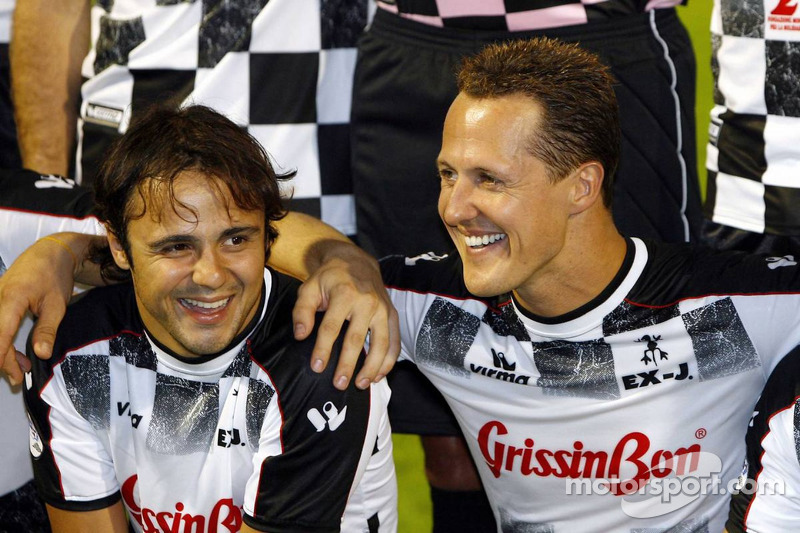 National pilotu s charity football match, Stadio Brianteo Stadio Brianteo: Felipe Massa ve Michael S