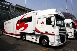 Transporteurs Super Aguri F1