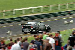 Paul Morris approaching turn 1