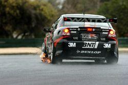 Fabian Coulthard partnered Paul Morris