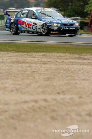 Alex Davison out of Turn 1