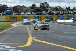 Jamie Whincup got the jump at the start