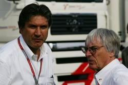 Pasquale Lattuneddu ve Bernie Ecclestone