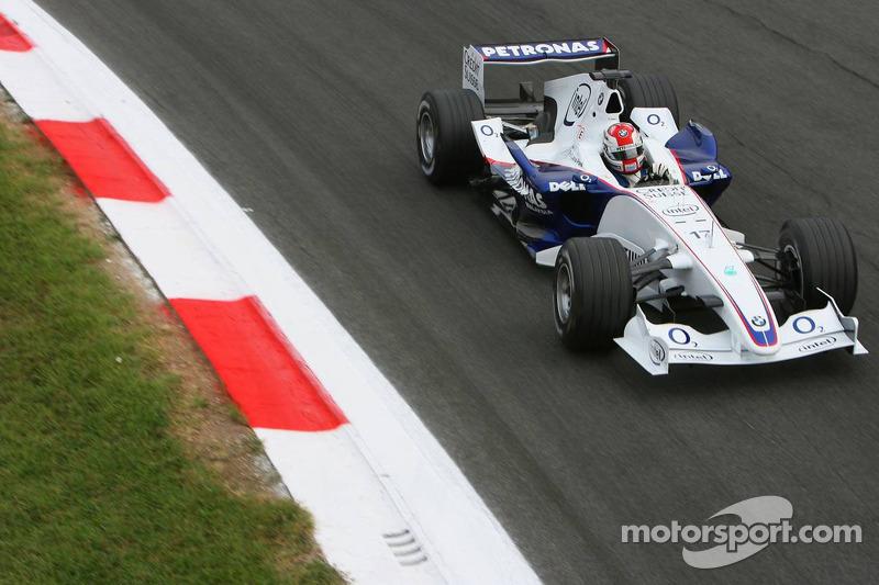 #7: Robert Kubica - GP de Itália de 2006 (21 anos e 278 dias)
