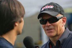 Нельсон Пике-мл. дает интервью Питеру Уиндзору Speed TV