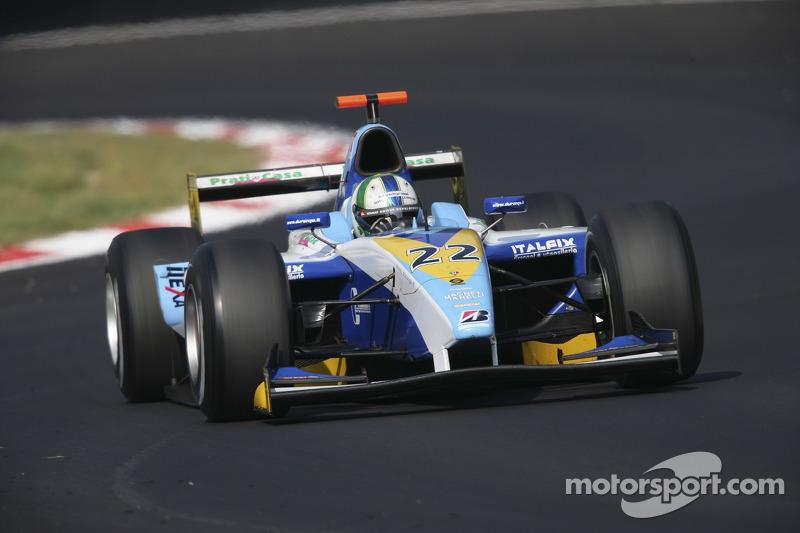 O próximo passo foi a GP2, categoria em que competiu em 2006 pela modesta Durango. Terminou em 17º, com um quinto lugar na Turquia como melhor resultado.