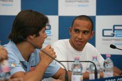 Conférence de presse : Nelson A. Piquet and Lewis Hamilton