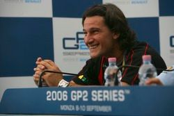 Press conference: Giorgio Pantano