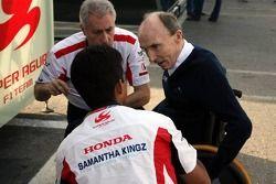 Sir Frank Williams, Aguri Suzuki et Daniele Audetto