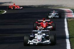 Nick Heidfeld y Felipe Massa