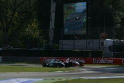 Nelson A. Piquet et Giorgio Pantano