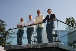 Spyker MF1 Racing basın toplantısı: Mike Gascoyne, Spyker MF1 Racing, Chief Technology Officer, Coli
