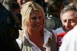 Corina Schumacher y Jean Todt