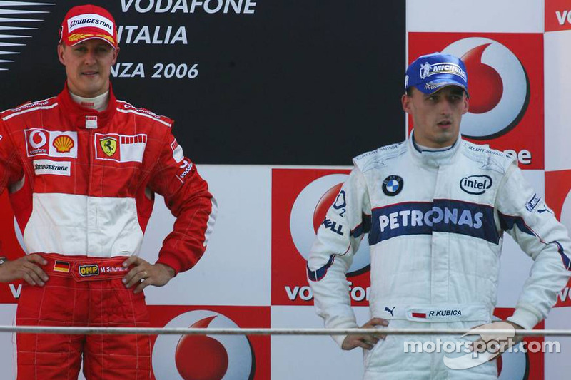 Michael Schumacher, Robert Kubica - Grand Prix Włoch 2006