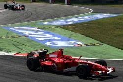 Michael Schumacher und Kimi Räikkönen