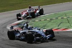 Nico Rosberg et Jarno Trulli