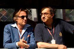 Luca di Montezemolo et Sergio Marchionne