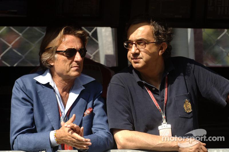 Luca di Montezemolo ve Sergio Marchionne