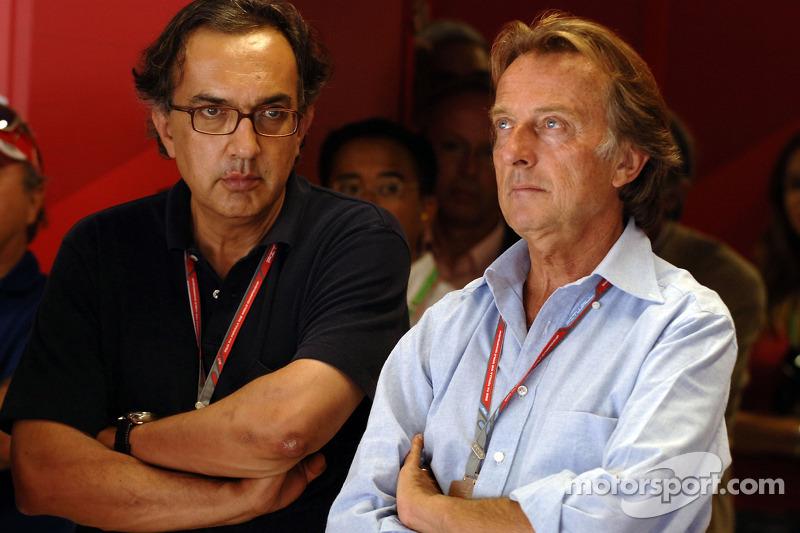 Sergio Marchionne ve Luca di Montezemolo
