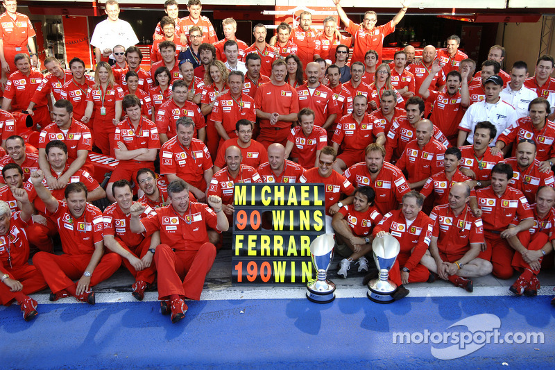 Monza - Michael Schumacher - 5 triunfos