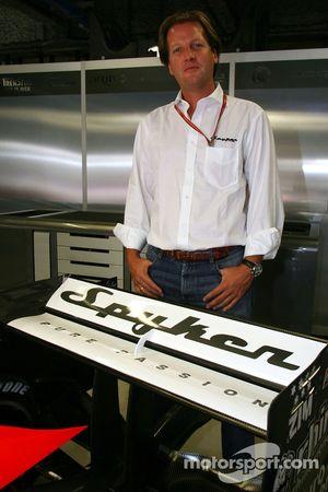Conférence de presse Spyker MF1 Racing : Michiel Mol
