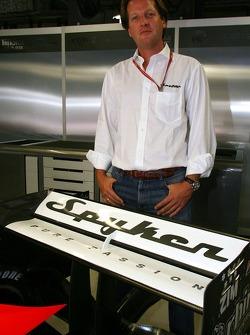 Spyker MF1 Racing press conference: Michiel Mol