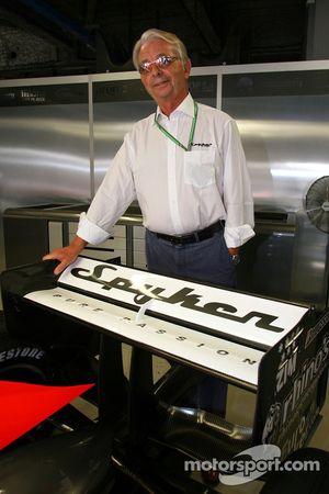 Conférence de presse Spyker MF1 Racing : Fred Mulder