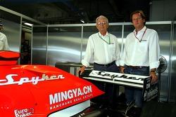 Spyker MF1 Racing press conference: Fred Mulder, Michiel Mol