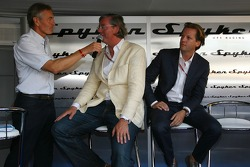 Spyker MF1 Racing press conference: Tony Jardine Interviews Victor R. Muller, Chief Executive Officer of Spyker Cars N.V. and Spyker MF1 Racing and Michiel Mol, future Director of Formula One Racing of Spyker and Spyker MF1 Racing at the Spyker MF1 Racing